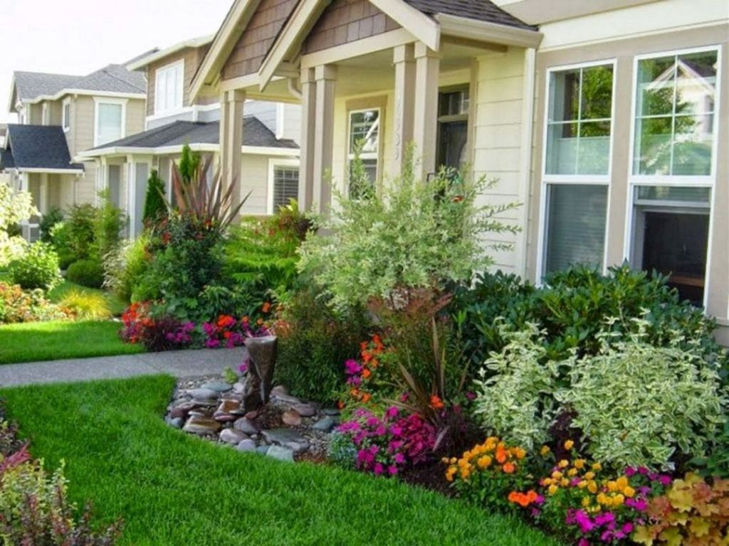 15 incredible front yard landscaping ideas with beautiful on front yard landscaping ideas id=36492
