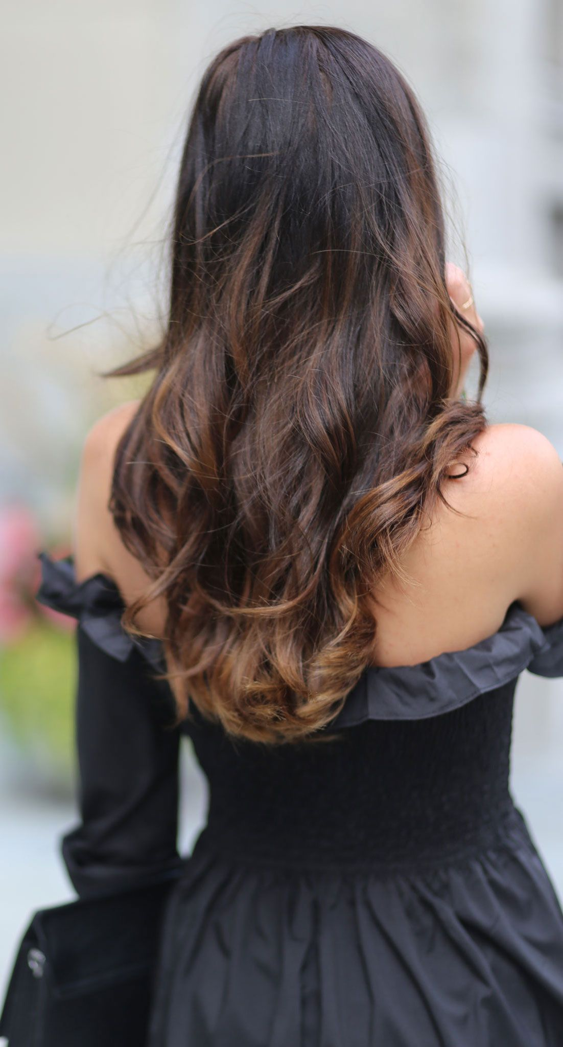 Wavy long ombre hair goals most perfect curls for long brown hair