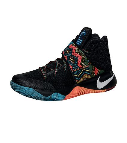 b2e52c66222836 NIKE Kyrie Irving Kyrie 2 Black History Month sneaker Men s mid top sneaker  Lace up closure