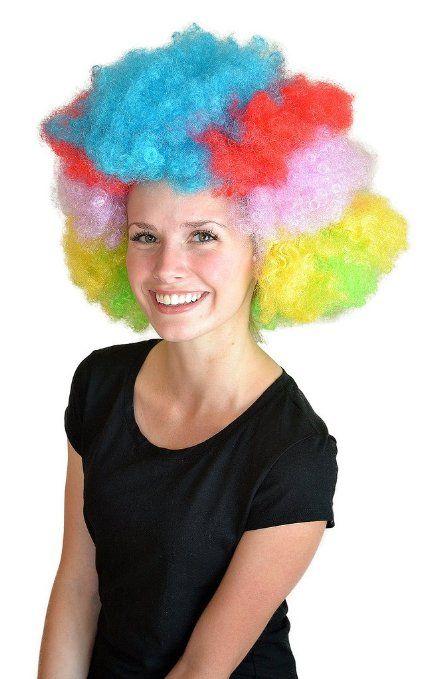 Amazon.com  My Costume Wigs Women s Madagascar 3 Wig (Rainbow) One Size  fits all  Clothing eae3c2f61da9