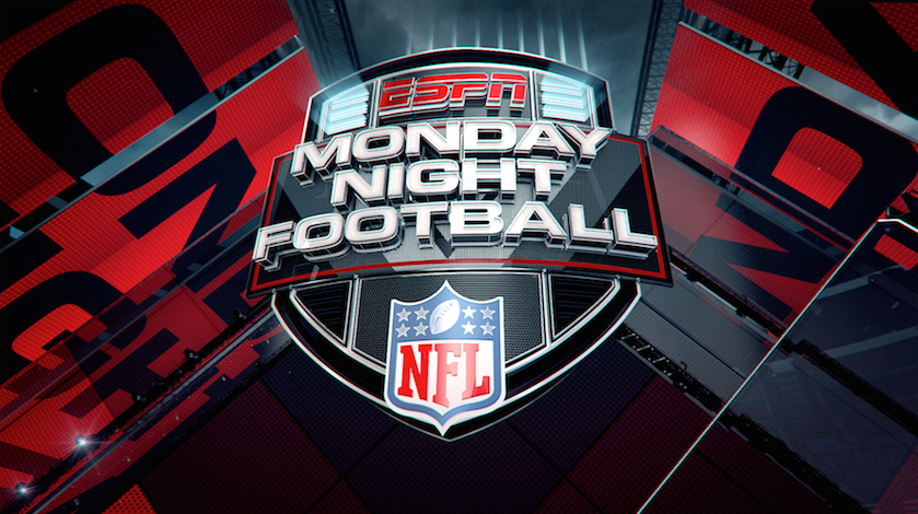 Big Block Provides New Graphics Package For Espn 39 S 39 Monday Night Monday Night Football Nfl Season Nfl