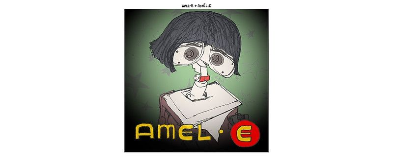Wall-E + Amelie by altanimus