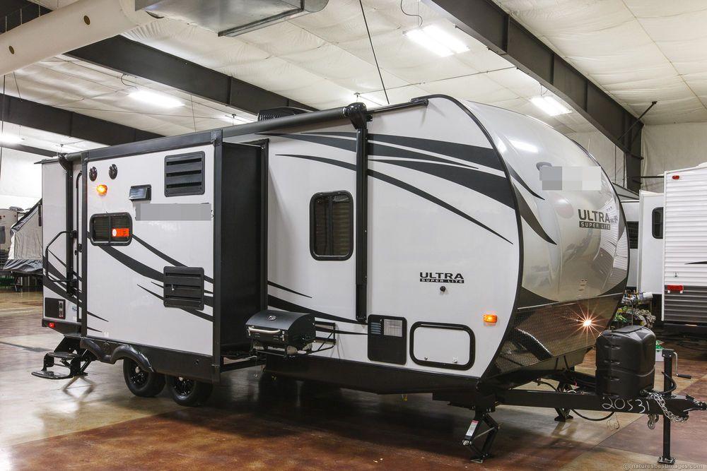 new 2016 220x ultra lite hybrid travel trailer 2 slide out camper never used hybrid travel. Black Bedroom Furniture Sets. Home Design Ideas