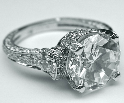 Vintage Cartier Engagement Ring From The 1920s Love It