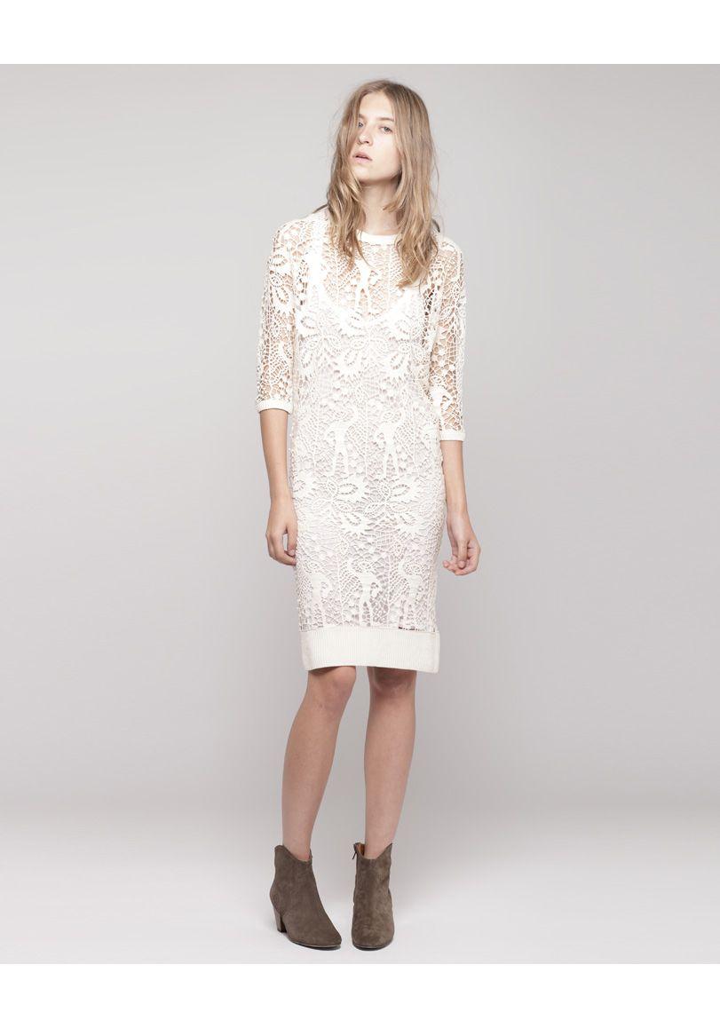 Isabel Marant Caira Half Sleeve Minidress Love The Dress Model S Expression