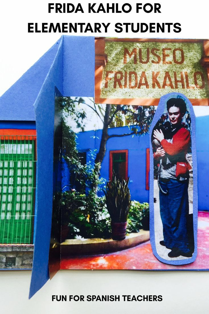Resources for teaching about Frida Khalo in an elementary