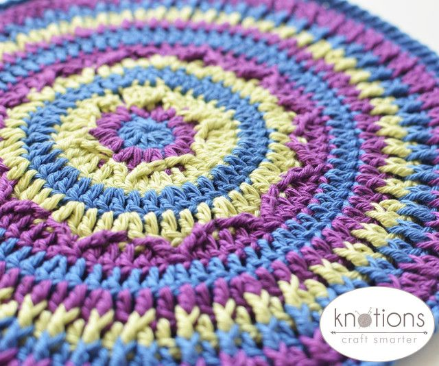Northern Lights Mandala by Lilla Björn Crochet | Atrapasueños y Mandalas