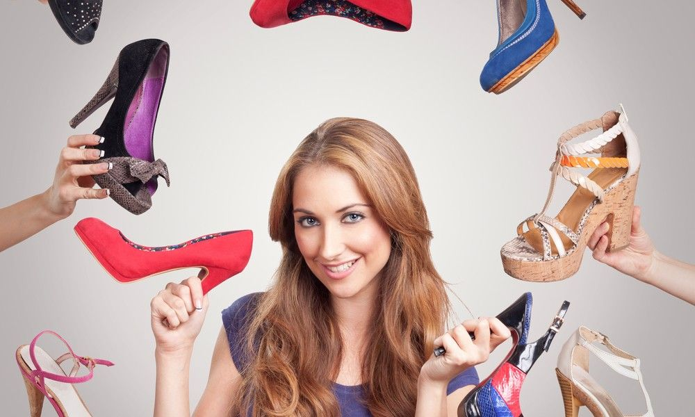 sapatos e ponto final… para ficar pronta para qualquer ocasião que possa vir a acontecer na vida. E não importa se você é a garota mais anti social d