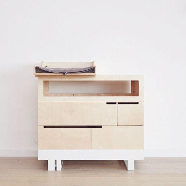 Cambiador beb mobiliario beb estilo n rdico mueble for Muebles nordicos online