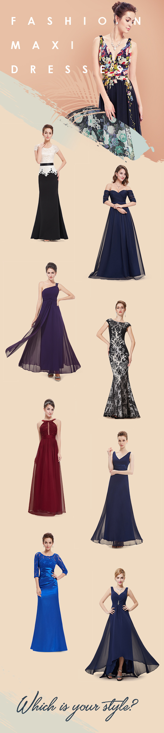 Fashion Maxi Dresses Which is your style Fashiondresses Fabulous