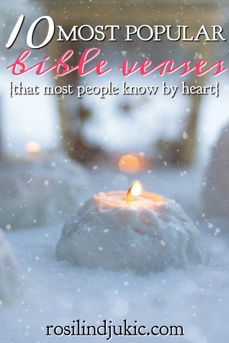 10 Most Popular Bible Verses Spiritual Posts Pinterest Bible