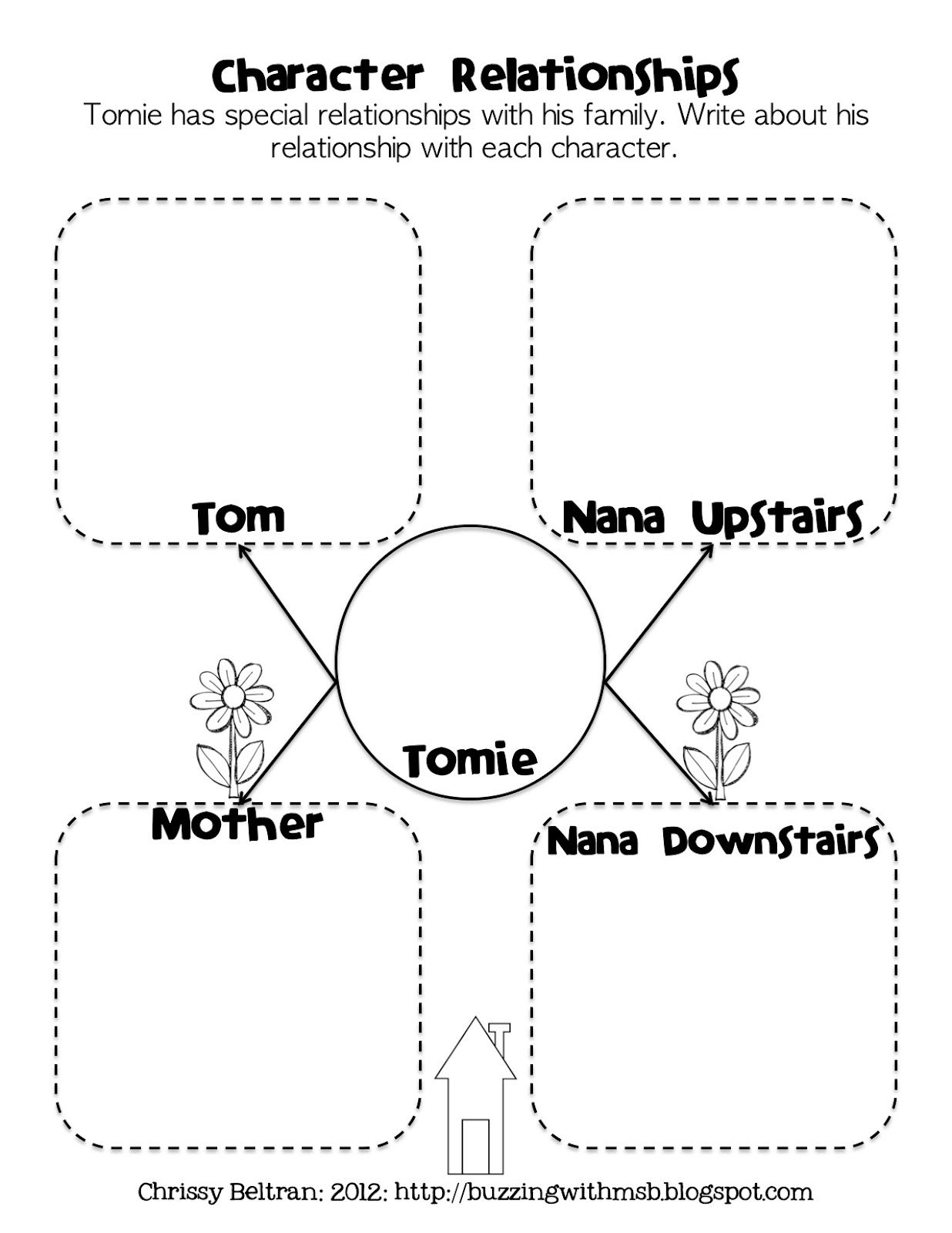 3 6 Free Resources Tomie DePaola Character Relationships Freebie