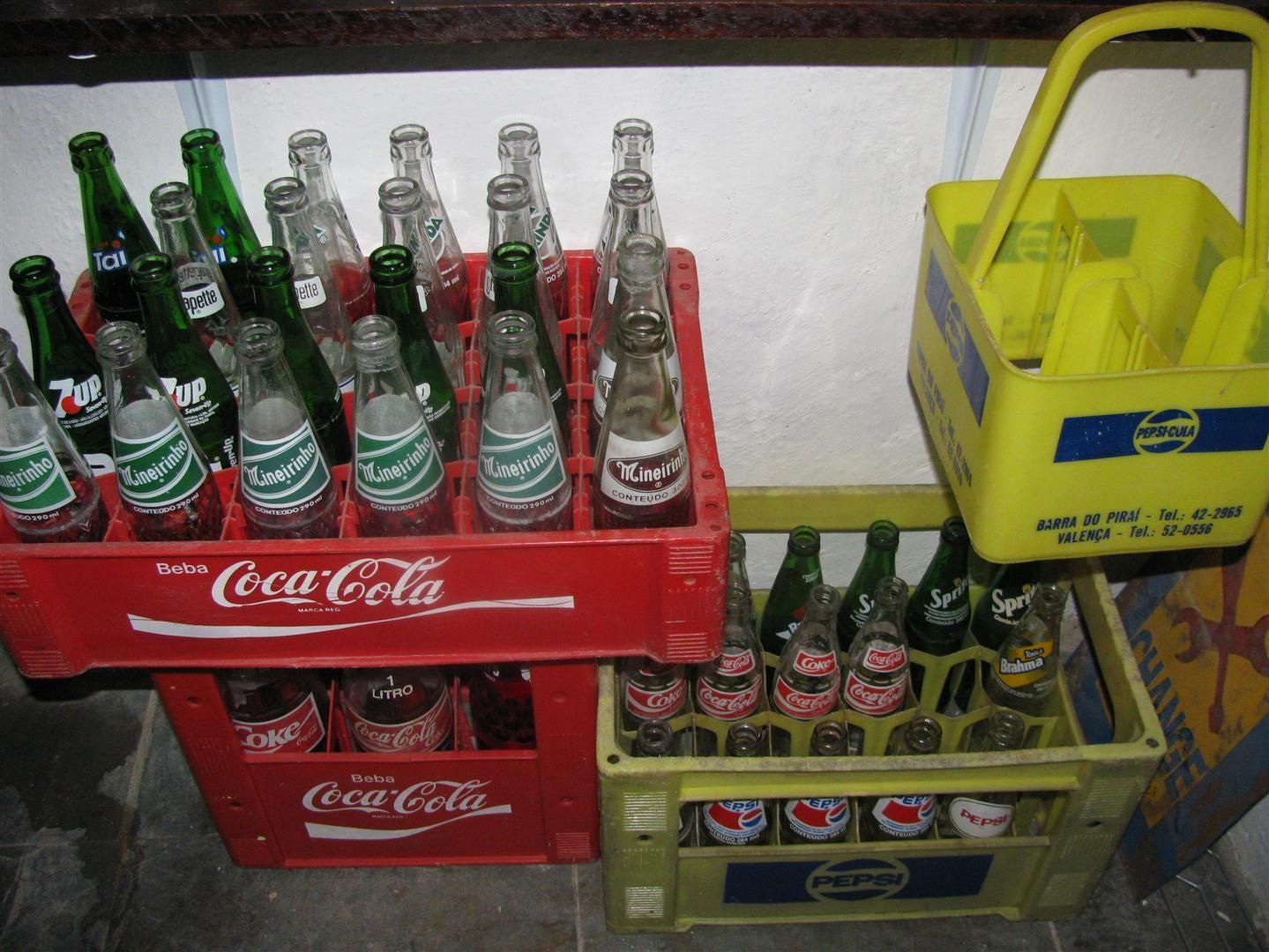 Refrigerantes Antigos: Mineirinho, Grapette, Coca-Cola, Pepsi ...