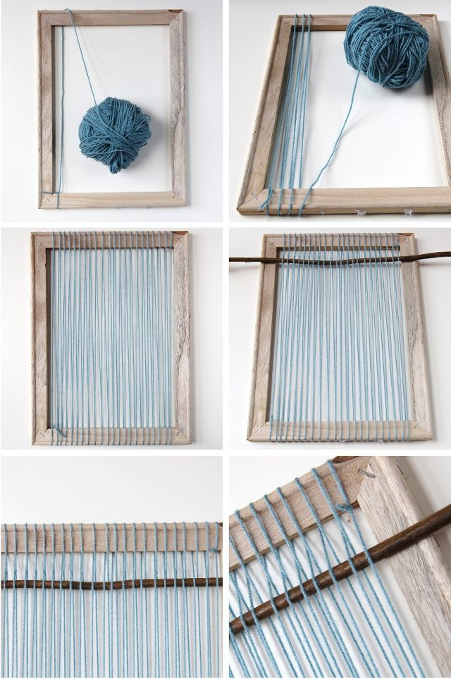 How to make your own Diy Woven Wall Hanging. | DIY | Pinterest ...