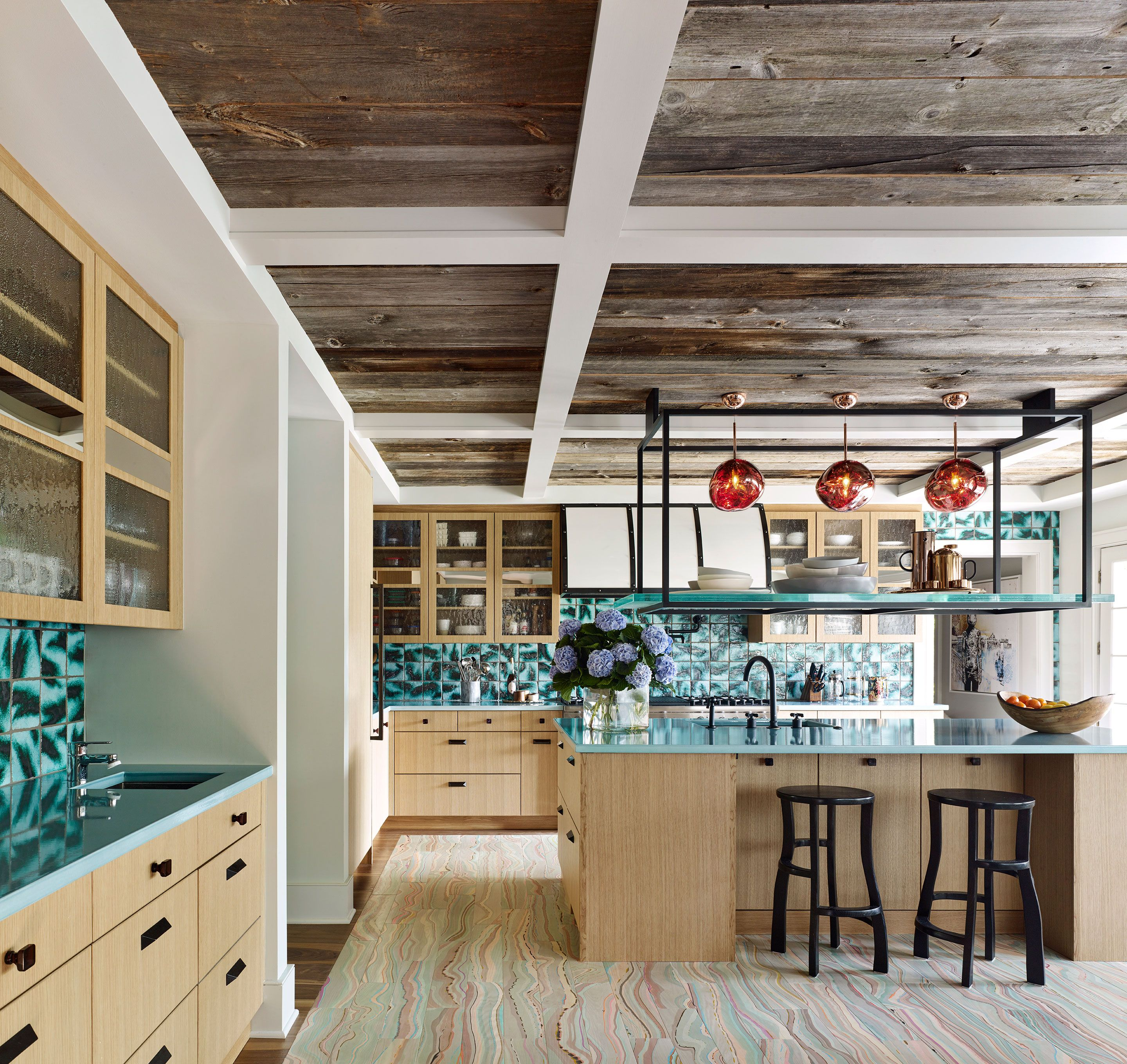 Country Floors Is Proud To Be A Part Of This Amazing Kitchen Project In Robert Downey Jr Residence This Incredible Kit Interior Top Interior Designers Design