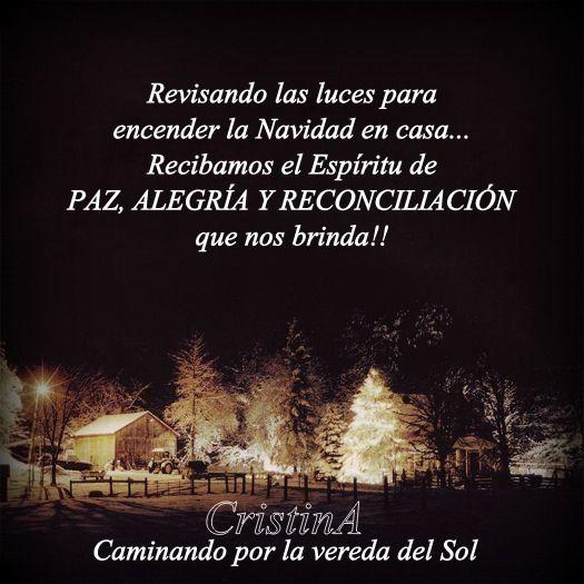 Paz Alegría y reconciliación