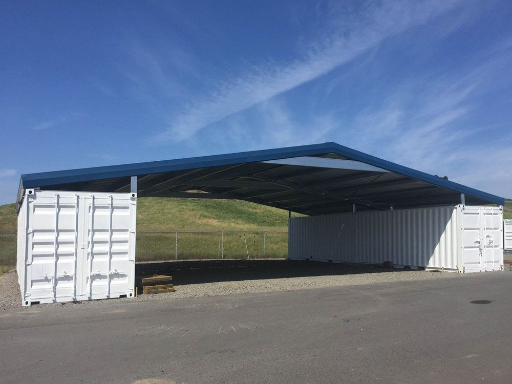 Shipping Container Roof System In 2020 Roofing Systems Container Buildings Shipping Container