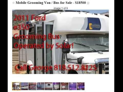 Mobile Pet Dog Grooming Van Bus for Sale https