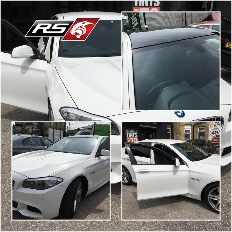 Roof Wrapped & Windows Tinted at RSCustoms #rscustoms #cars #tinting #wrapping #bmw #custom #professional