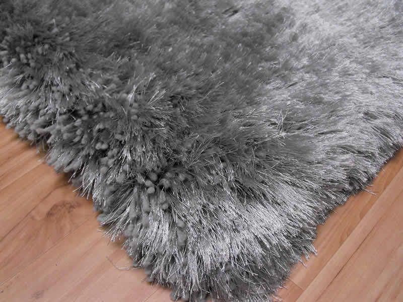silver rugs plush silver shaggy rug plush silver shaggy rug - Shaggy Rug