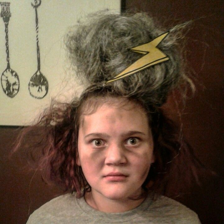 Crazy Hair Day Hit By A Lightning Bolt Crazy Hair Day At School