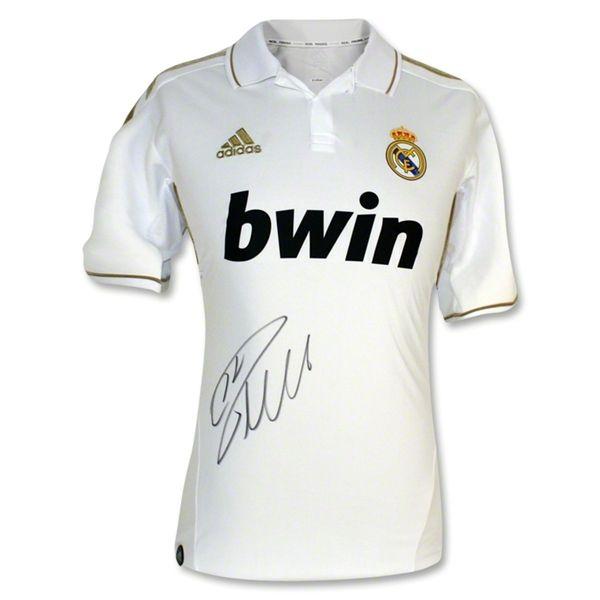 Real Madrid Cristiano Ronaldo Signed Soccer Jersey Real Madrid Cristiano Ronaldo Real Madrid Soccer Jersey