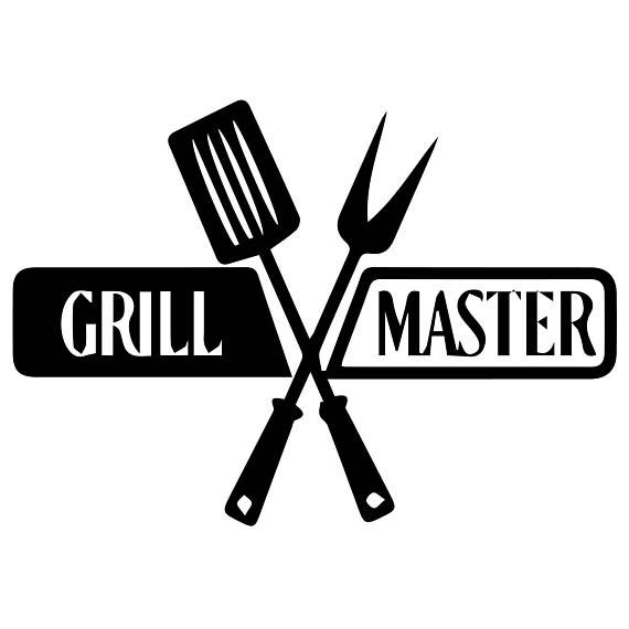 Grill master Svg Files Silhouettes Dxf Files Cutting files