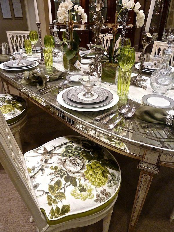 Branca At Bergdorfs Quintessence Dining Room Table Set Table
