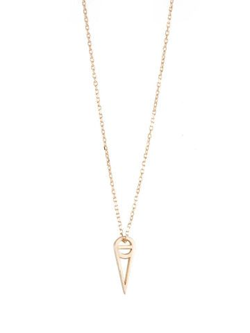 37152b9ddc37d6 Plume Necklace Gold | In God We Trust NYC | Jewelry Box | Gold ...