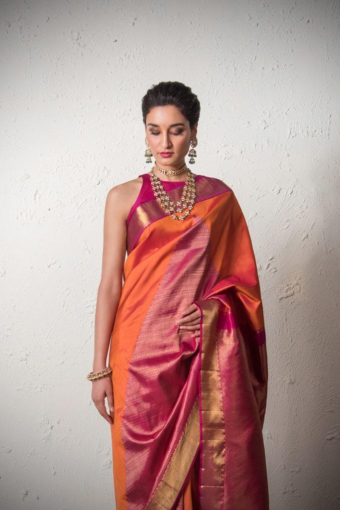 Inspired By Deepika Padukone Here S The Modern Day Bride S Guide To Kanjeevarams Angadi Galleria Indian Fashion South Indian Bride Kerala Bride