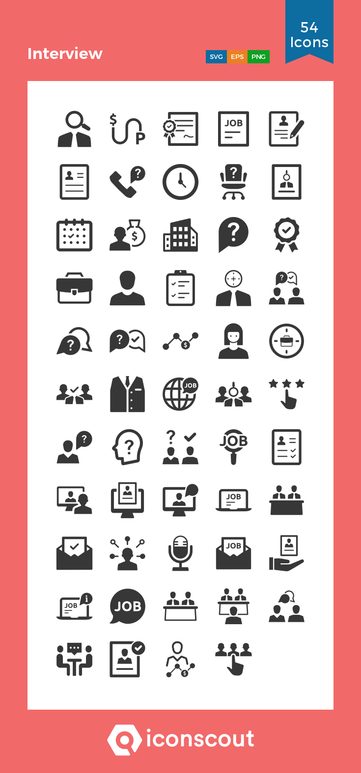 Download Interview Icon Pack Available In Svg Png Eps Ai Icon Fonts Icon Pack Business Icon Icon