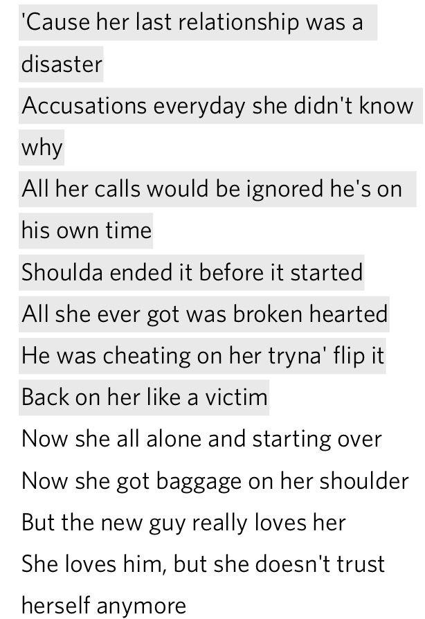Lyric he wants it all lyrics : Lyrics Russ Losin Control. ❤ It's like he knows what my ex did to ...