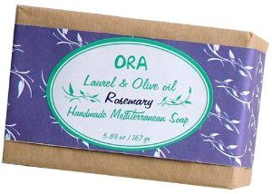 Aleppo Soap/ Ghar Soap Natural Laurel and Olive Oil Soap with Rosemary 5.89oz/ 167g. by ORA. $5.99. No artificial dyes and fragrance. Also known Aleppo Soap. Natural. ORA soap brings you a unique and authentic experience that dates back to thousands of years. Our blends combine the oldest handcrafted creations with the most organic pure and exhuberant ingredients from the Mediterranean region. Endulge in the benefits of our therapeutic and energetic ORA. This mediterranean he...