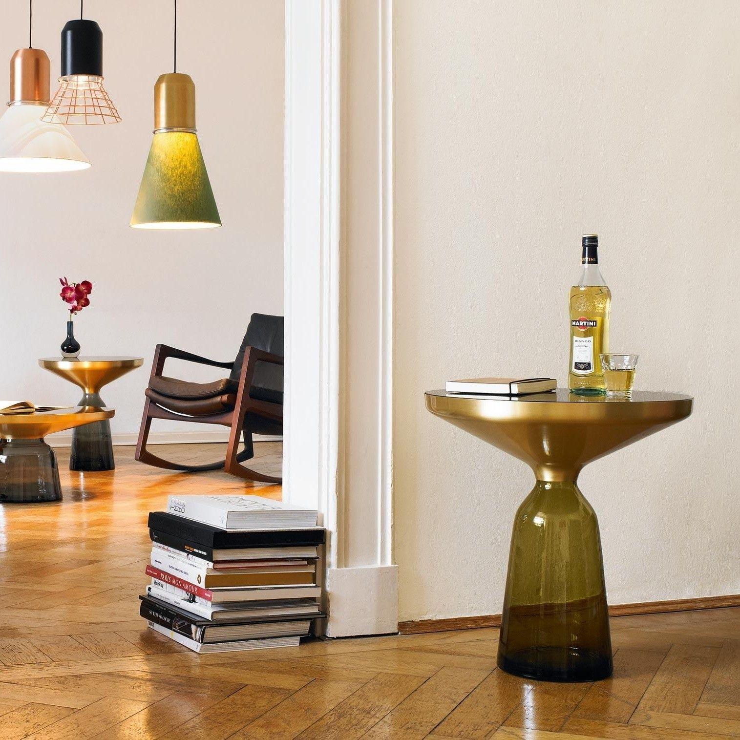 Bell Side Table Beistelltisch Messing Beistelltische Haus Deko Und Tisch