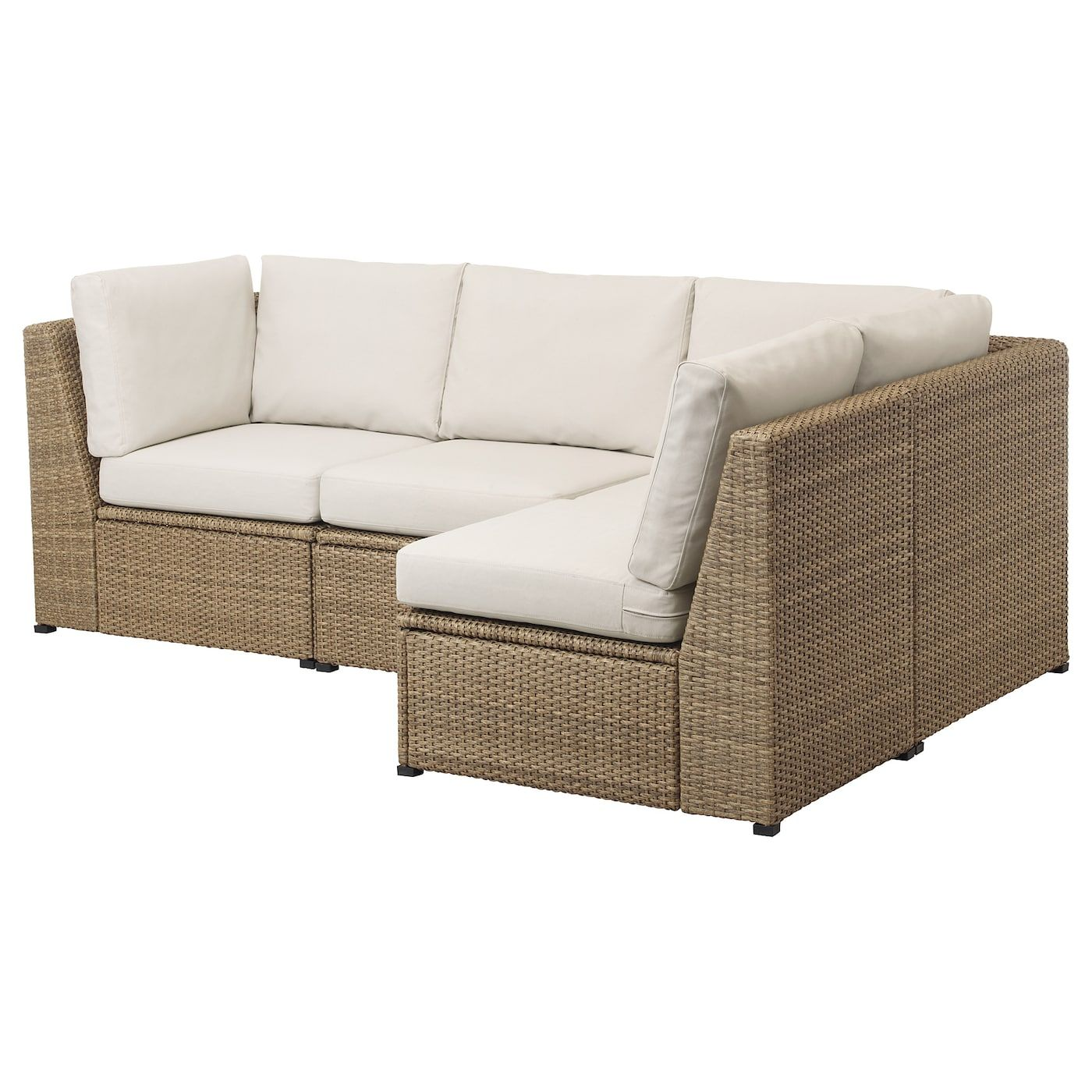 Solleron Brown Froson Duvholmen Beige Modular Corner Sofa 3 Seat Outdoor 85 Cm Ikea In 2020 Modulares Ecksofa Ecksofa Ikea