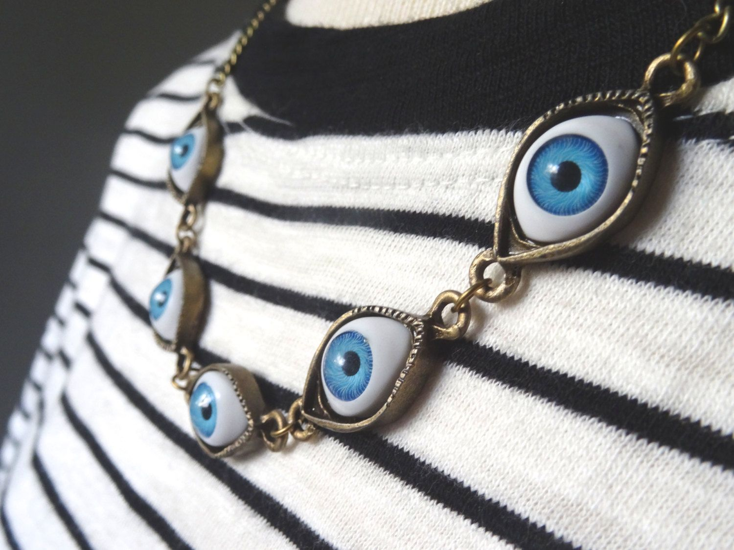 necklace by pendants eyeball rivenwanderer deviantart art riven on