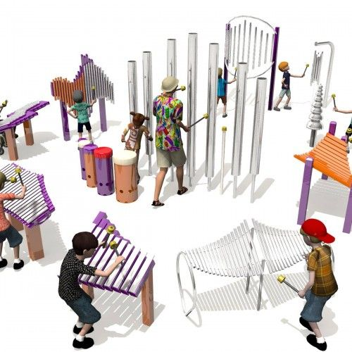 Freenotes Harmony Park Outdoor Musical Instruments Playscape Creations Harmony Park Musicals Kids Outdoor Playground