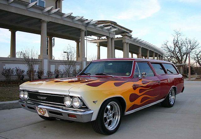 Chuck Hanson S Chevelle Wagon Horsepower Tv Chevelle Chevelle Car Classic Cars Trucks Hot Rods