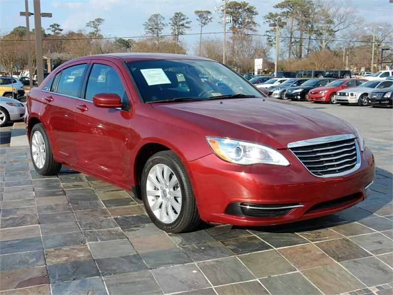 2014 Chrysler 200 Touring 12643 Miles Red Exterior Color With A