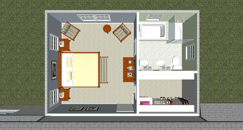 Floor Plans For Master Bedroom Additions Creating An Ideal Master Interesting Master Bedroom Addition Property