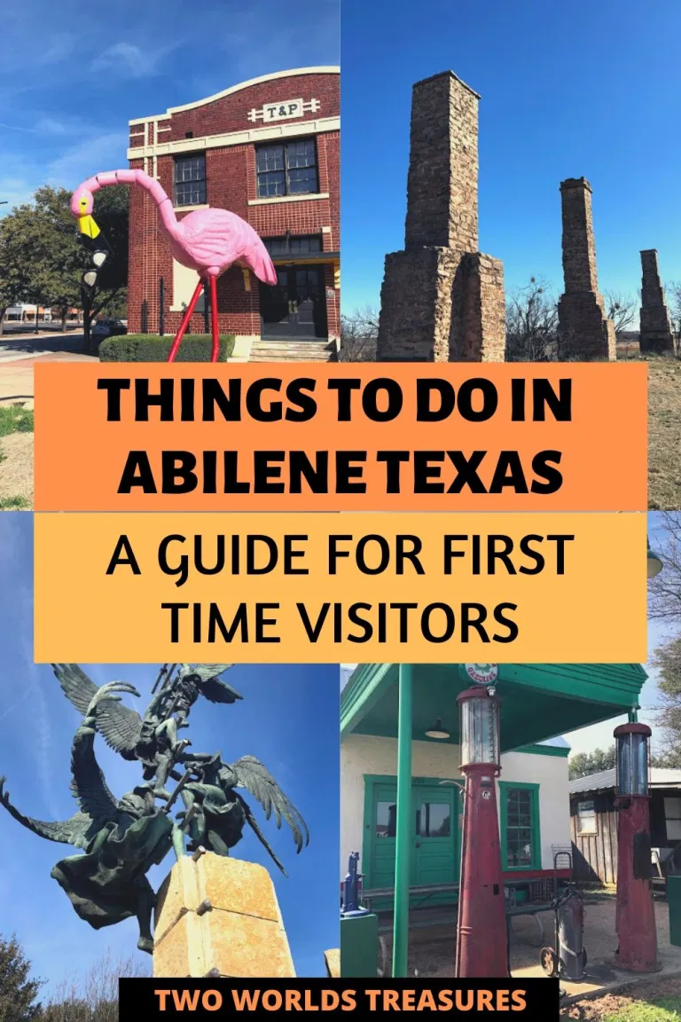 Things To Do In Abilene Texas A Guide For First Time Visitors Two Worlds Treasures In 2020 Abilene Texas Travel Usa Weekend Getaways From Dallas