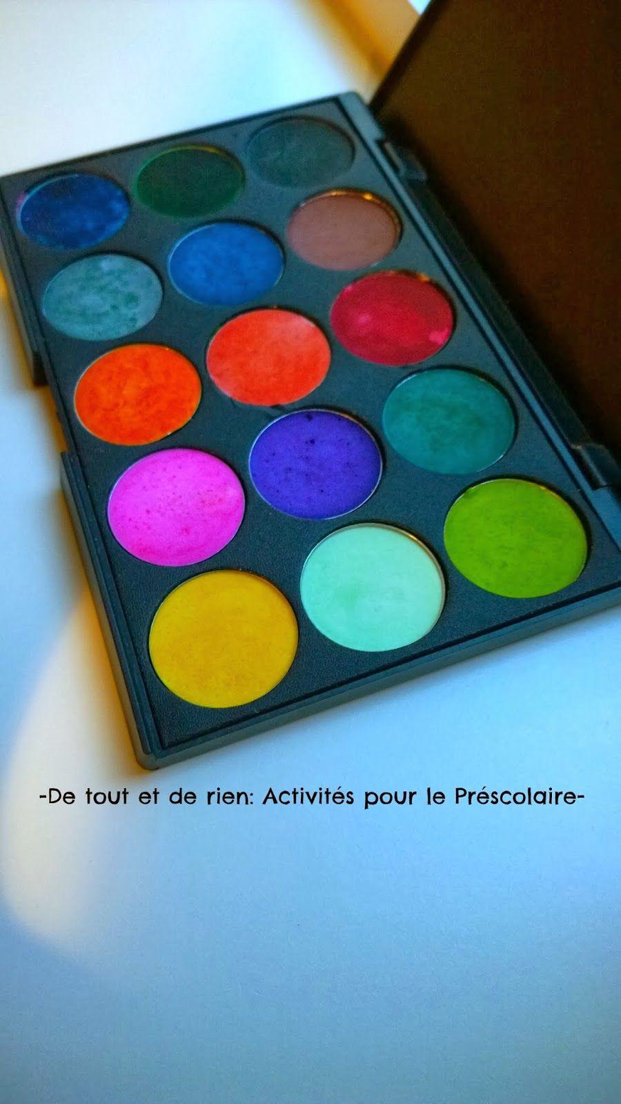 De Tout Et De Rien Activites Pour Le Prescolaire Homemade
