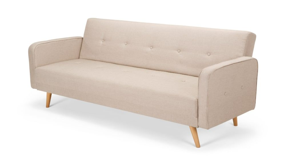 Chou Click Clack Sofa Bed Quail Beige With Images Sofa Bed