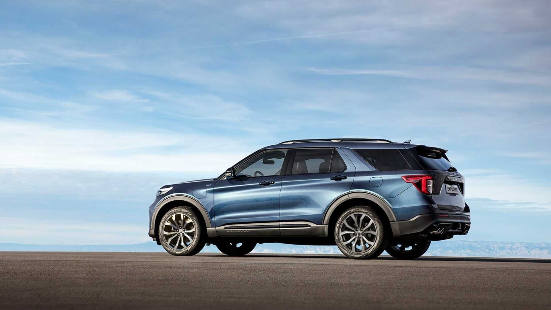 Ford Launches 7 Seat Explorer Phev With 26 Mile Wltp Ev Range In Europe In 2020 New Ford Explorer Plug In Hybrid Suv Ford Explorer