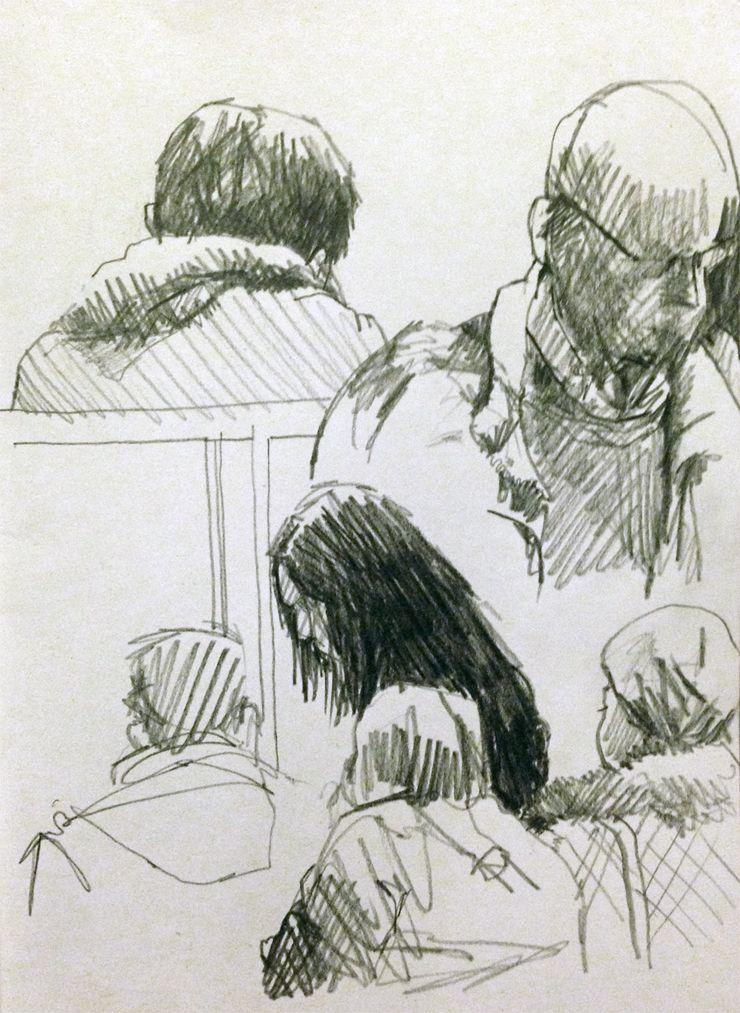 Pencil sketches original artwork by davidhewittartist