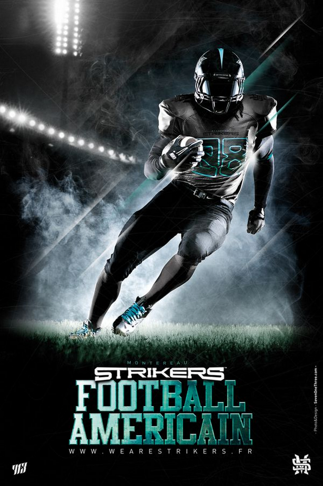51 Cool Football Graphic (Poster) Designs | Sports graphic ...
