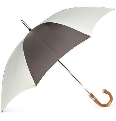 swaine adeney brigg // curved handle golfing umbrella