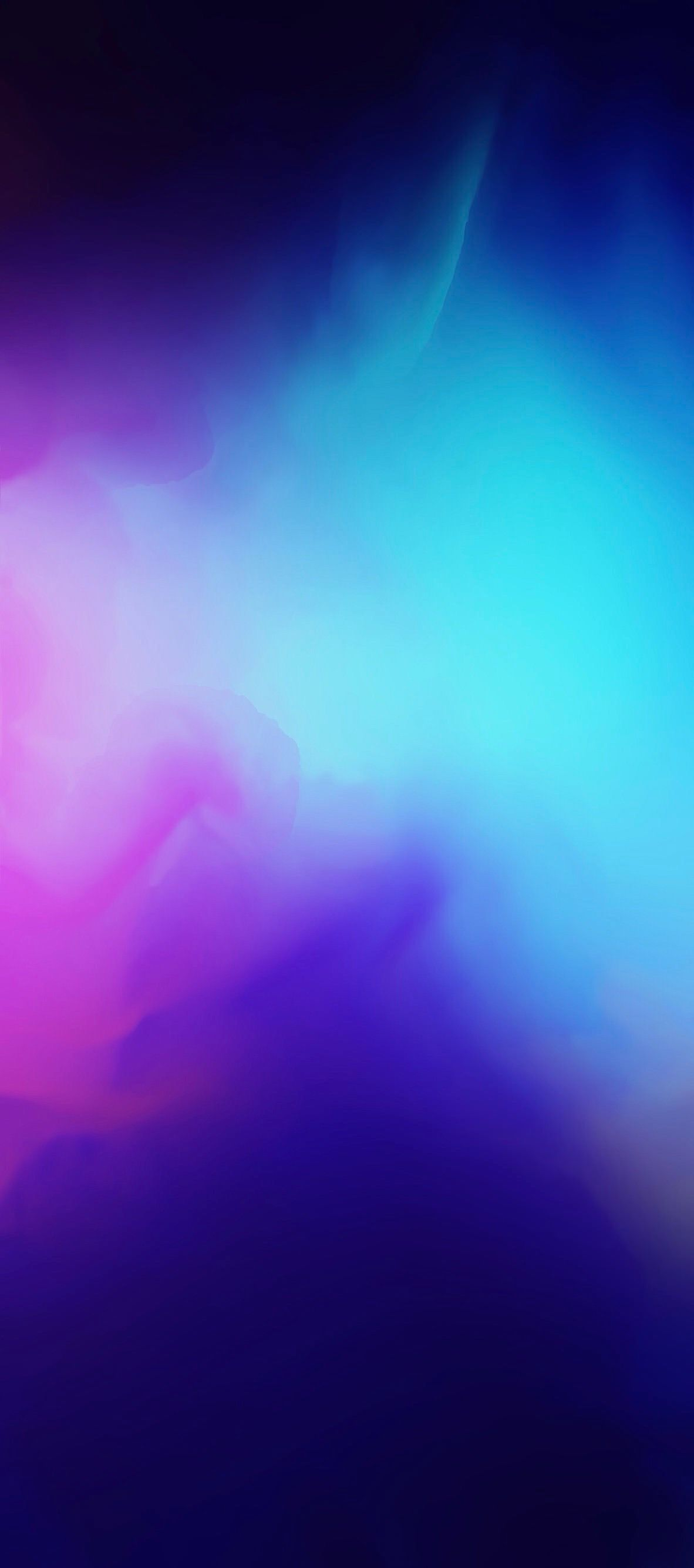 Ios 11 Iphone X Blue Purple Abstract Apple Wallpaper Iphone