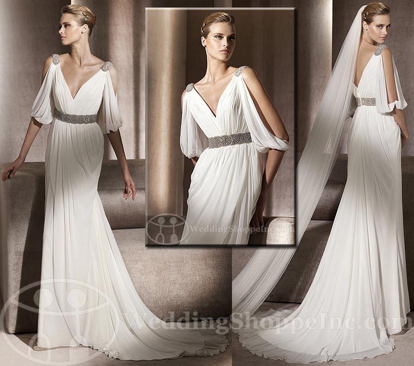 Greek Wedding Dresses San Patrick Famosa