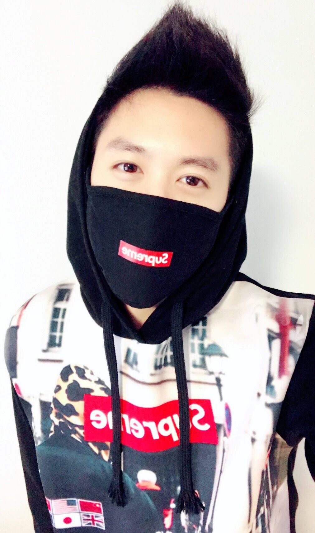 Korean Fashion Face Mask // ANIME // BEAR // CROSS by